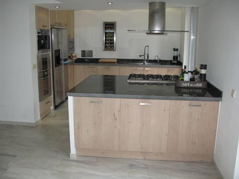 keuken licht rustiek eiken te boveldt meubelmakerij interieurbouw