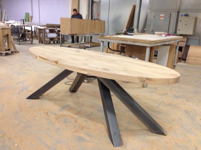 Ovale tafel hout ovale tafel easton houten kopen ovale tafels