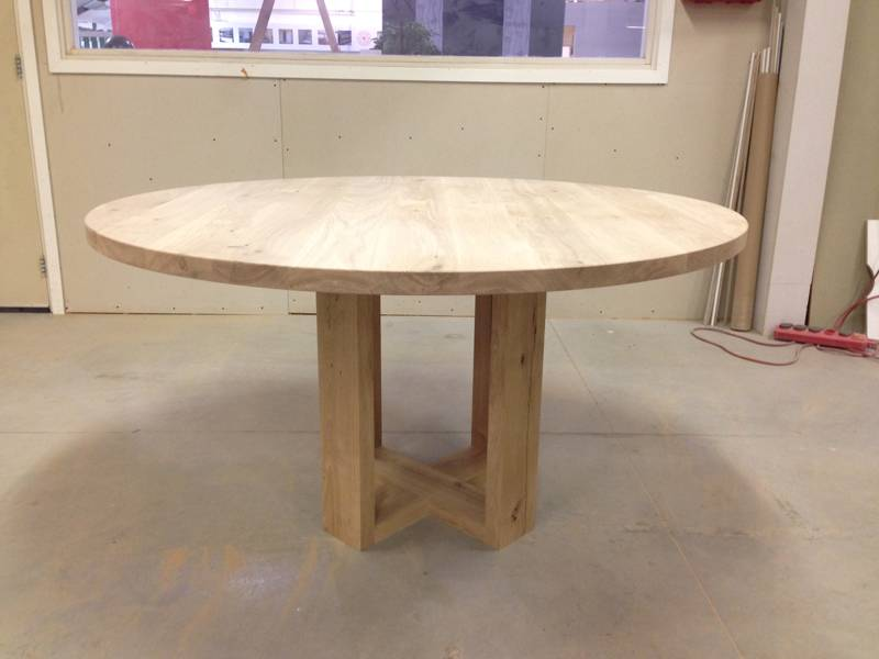diy huis dining table board 800 600 and more forward ronde eettafel ...