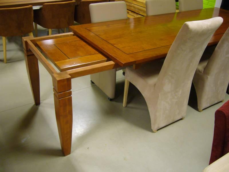 Uitschuifbare tafel kersenhout massief wenge : Te Boveldt ...