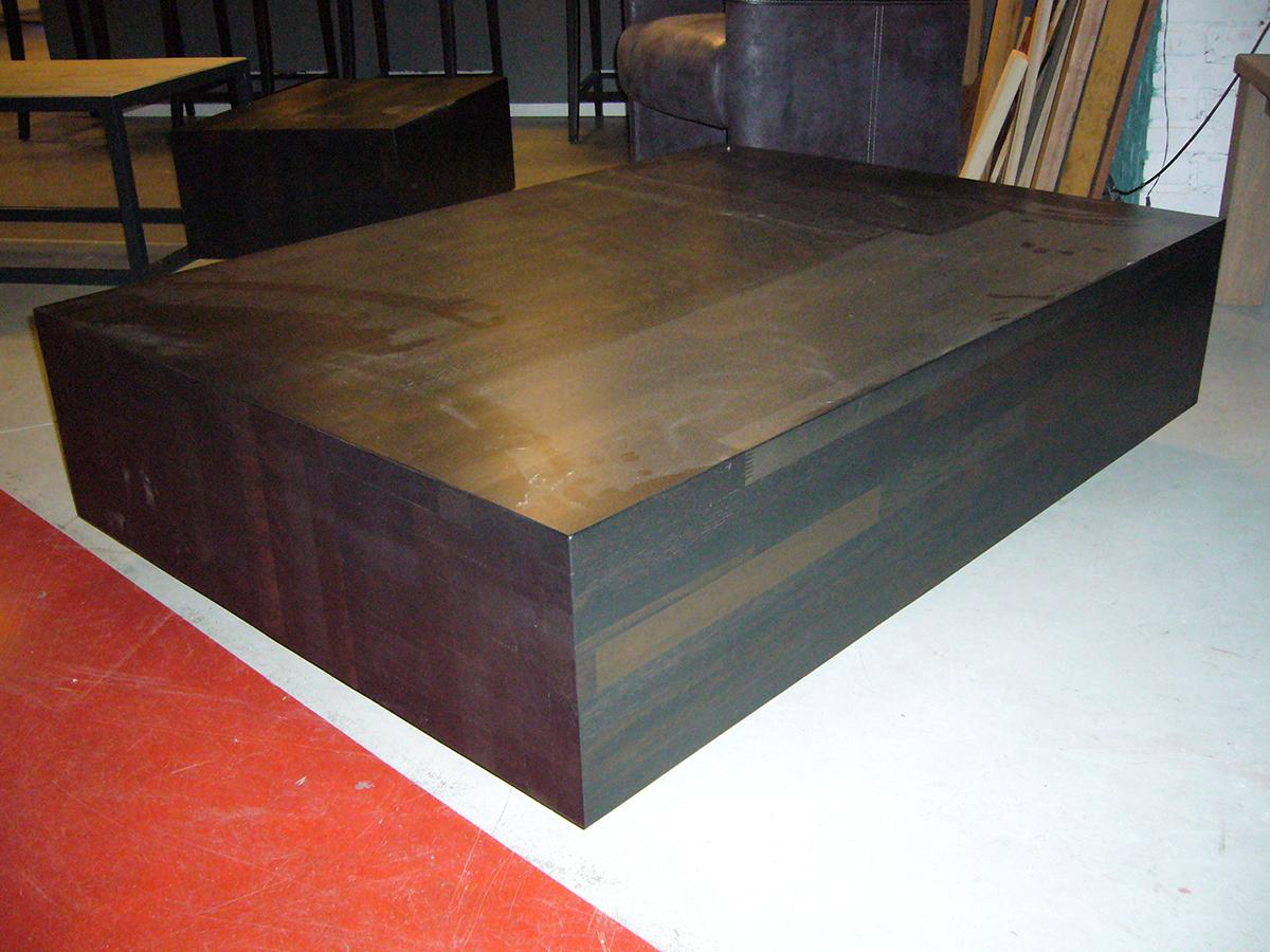 Tafel kubus hout 100 images een eiken kubus of een houten zuil is een natuurproduct geen 2 - Kubus interieurs ...