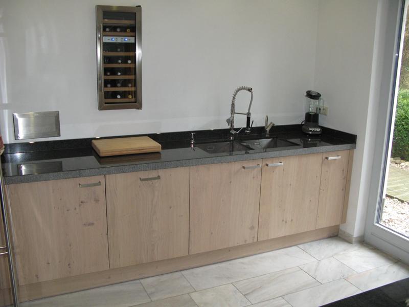 Keuken Eiken Werkblad : keuken licht rustiek eiken Te Boveldt Meubelmakerij & Interieurbouw