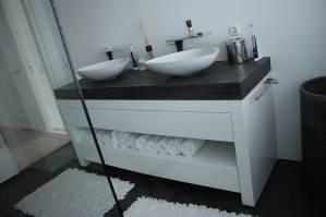 Badkamermeubel mdf hoogglans beton te boveldt meubelmakerij