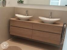 Badkamermeubel Op Maat : Badkamermeubel op maat te boveldt meubelmakerij interieurbouw