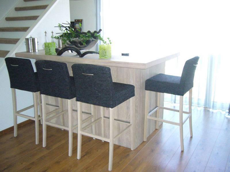 Keuken Met Bartafel : Bartafel white wash Te Boveldt Meubelmakerij & Interieurbouw