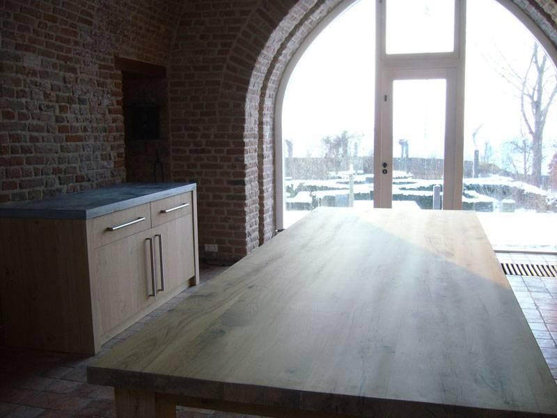 Keuken Met Betonnen Blad : Keuken met betonnen blad
