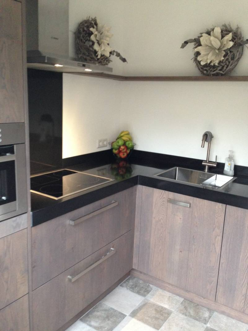 Eiken Keuken Planken : Keuken eiken grey wash Te Boveldt Meubelmakerij