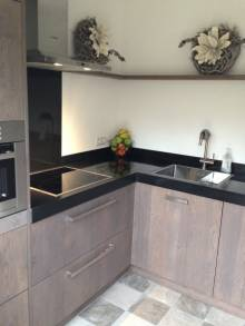 Keuken eiken grey wash