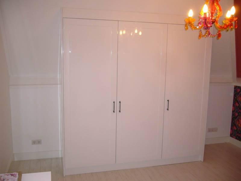 Inbouwkast schuine wand ikea bc van design keukens en interieur