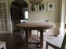 Eetkamertafels op maat te boveldt meubelmakerij interieurbouw