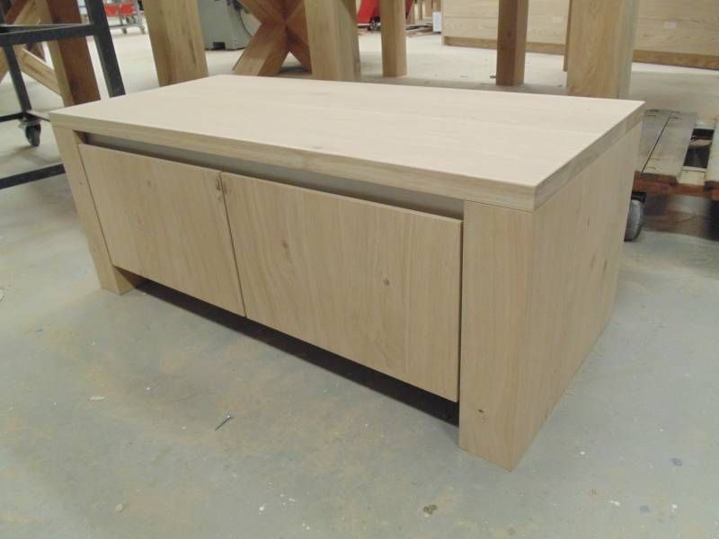 Tv Meubel Blank Eiken Patine.Tv Dressoir Eiken Stoer Tv Dressoir Eiken Rustiek Het Ambacht