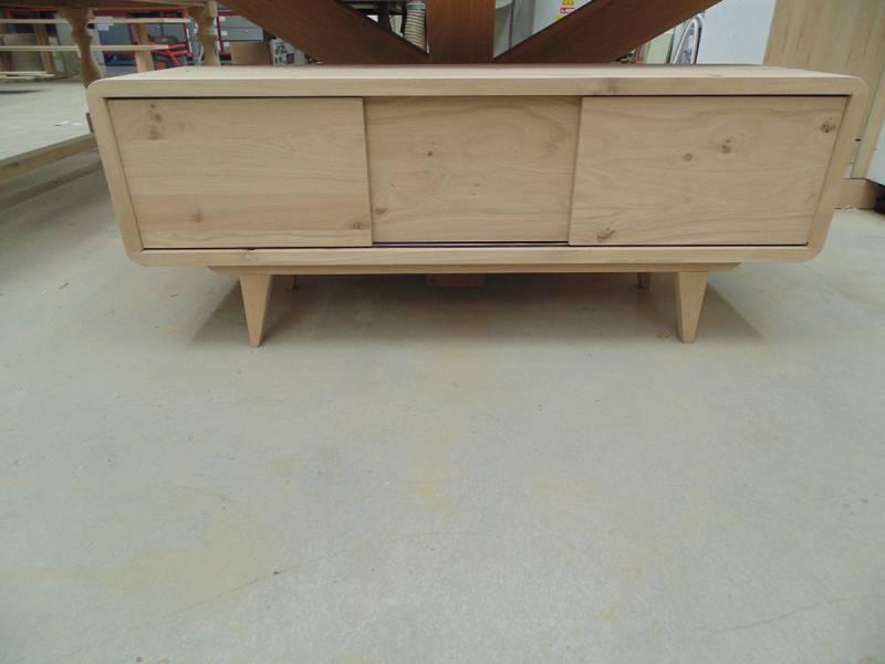 Rustiek Eiken Kast : Tv meubel rustiek eiken afgeronde hoeken te boveldt