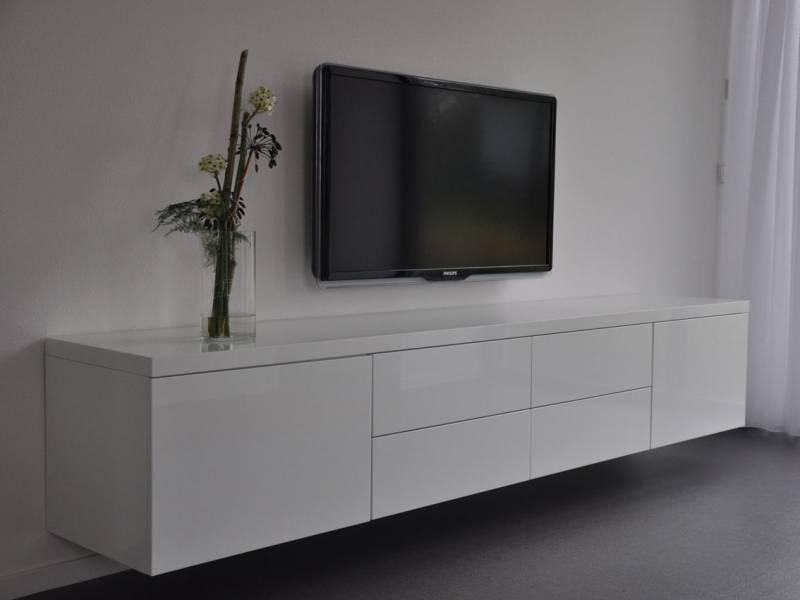 Zwevende Tv Kast : Tv meubel zwevend mdf hoogglans ral te boveldt meubelmakerij